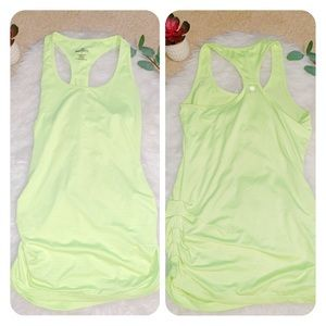 90 degree by reflex yoga ruched tank yellow